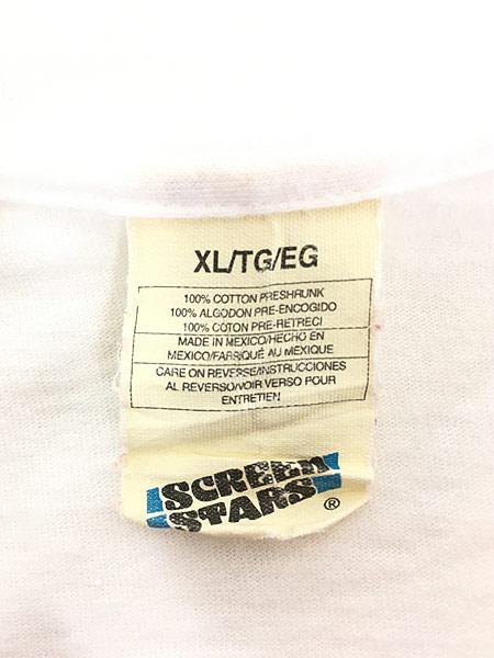 [6] 古着 90s MARIELLA BURANI PARFUMS 女性 フォト ピクチャー Tシャツ XL 古着