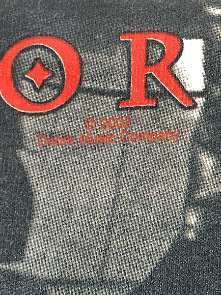 [5] 古着 00s USA製 The Doors Jim Morrison 「The Lizard King」 ロック バンド タイダイ Tシャツ XL 古着