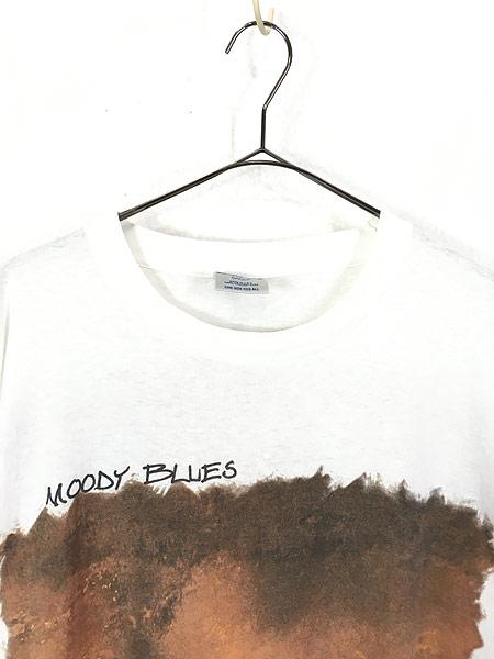 [2] 古着 90s USA製 The Moody Blues サマーツアー プログレ ロック バンド Tシャツ XL位 古着
