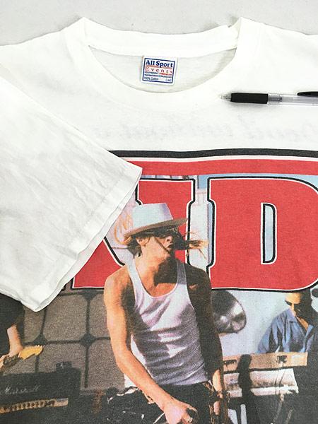 [4] 古着 90s KID ROCK 「Devil Without a Cause」 ロック バンド Tシャツ L 古着