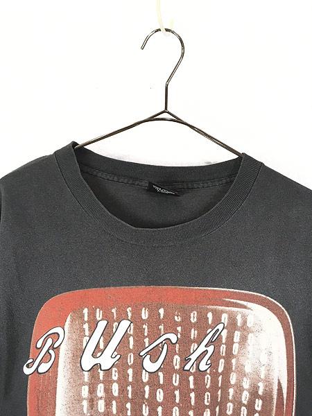 [2] 古着 90s USA製 Bush 「Sixteen Stone」 ツアー オルタナ ロック バンド Tシャツ L 古着