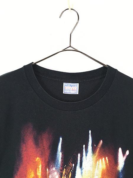 [2] 古着 00s KISS 「I WAS THERE」 BIG フォト メタル ロック バンド Tシャツ L 古着