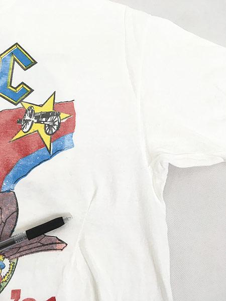 [5] 古着 90s USA製 AC/DC 「The Razors Edge」 ツアー ヘヴィ メタル ロック バンド Tシャツ XL 古着