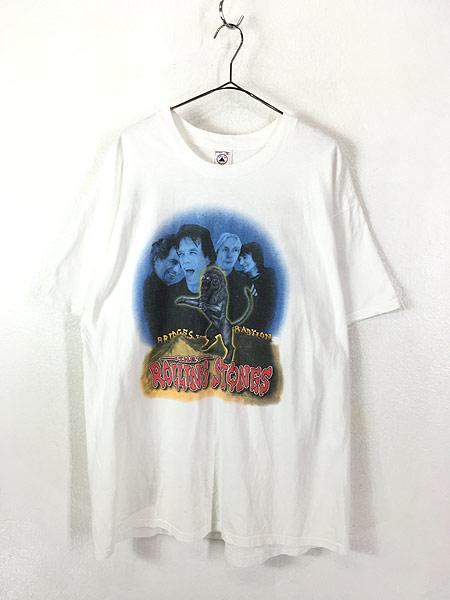 [1] 古着 90s The Rolling Stones 「Bridges to Babylon」 ツアー ロック バンド Tシャツ XL 古着
