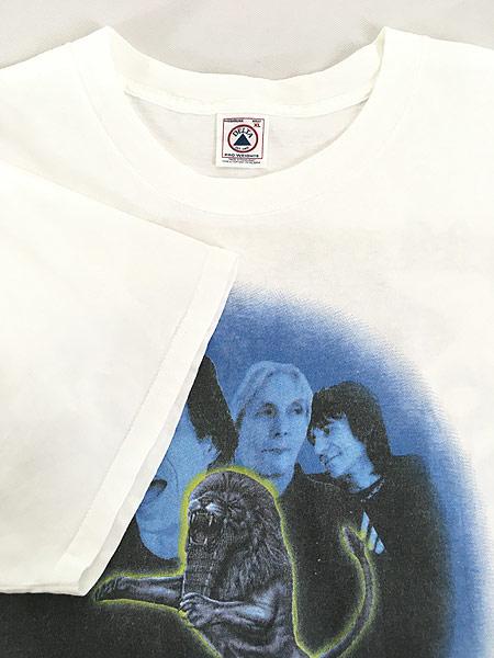 [4] 古着 90s The Rolling Stones 「Bridges to Babylon」 ツアー ロック バンド Tシャツ XL 古着