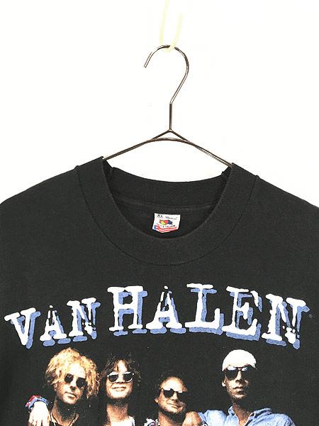 [2] 古着 90s USA製 VAN HALEN 「LIVE 1993」 ツアー ハード ロック バンド Tシャツ XL 美品!! 古着