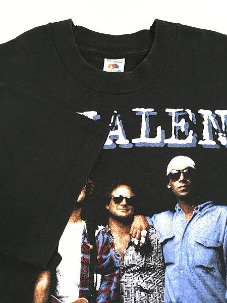 [4] 古着 90s USA製 VAN HALEN 「LIVE 1993」 ツアー ハード ロック バンド Tシャツ XL 美品!! 古着