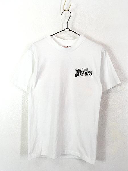 [1] 古着 90s USA製 「Rock'n' Roll Heaven」 VAN HALEN 1984 パロディ Tシャツ S 古着