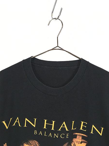 [2] 古着 90s VAN HALEN 「BALANCE」 発売禁止 ハード ロック バンド Tシャツ XL位 古着