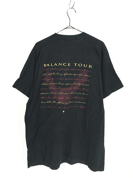 [3] 古着 90s VAN HALEN 「BALANCE」 発売禁止 ハード ロック バンド Tシャツ XL位 古着