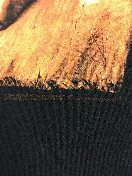 [5] 古着 90s VAN HALEN 「BALANCE」 発売禁止 ハード ロック バンド Tシャツ XL位 古着