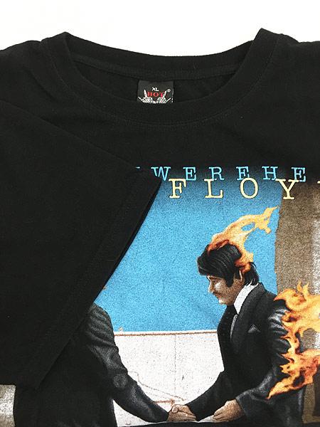 [4] 古着 00s PINK FLOYD 「WISH YOU WERE HERE」 プログレ ロック バンド Tシャツ XL 古着