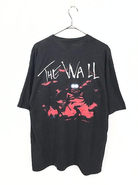 [3] 古着 90s PINK FLOYD 「The Wall」 グラフィック プログレ ロック バンド Tシャツ L 古着