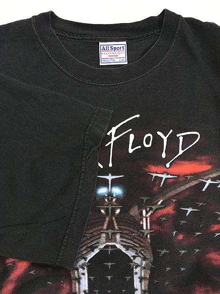 [4] 古着 90s PINK FLOYD 「The Wall」 グラフィック プログレ ロック バンド Tシャツ L 古着