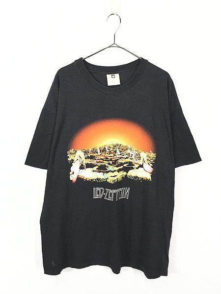 [1] 古着 90s LED ZEPPELIN 「Houses of the Holy」 ヘヴィ メタル ロック バンド Tシャツ XL 古着