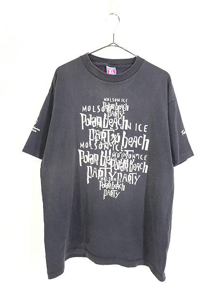 [1] 古着 90s USA製 「Polar Beach Party」 豪華 HOLE × METALLICA フェス ロック バンド Tシャツ XL 古着