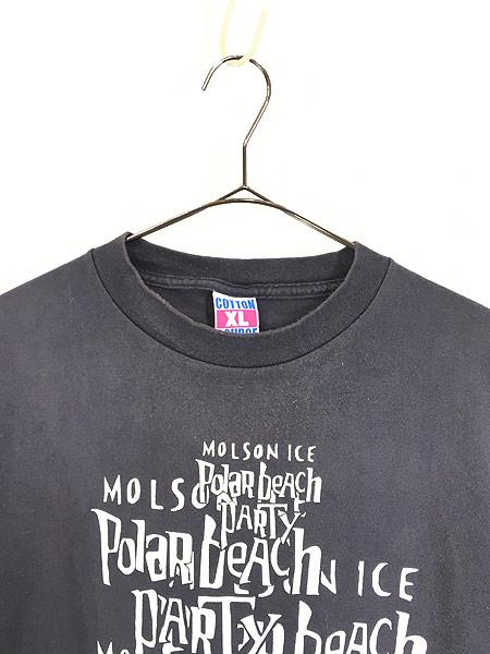 [2] 古着 90s USA製 「Polar Beach Party」 豪華 HOLE × METALLICA フェス ロック バンド Tシャツ XL 古着