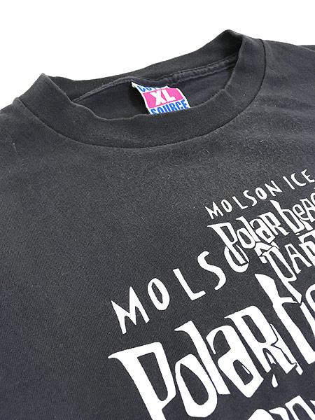 [5] 古着 90s USA製 「Polar Beach Party」 豪華 HOLE × METALLICA フェス ロック バンド Tシャツ XL 古着