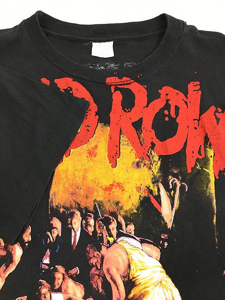 [5] 古着 90s SKID ROW 「SLAVE TO THE GRIND」 ツアー ヘヴィ メタル ロック バンド Tシャツ XL 美品!! 古着
