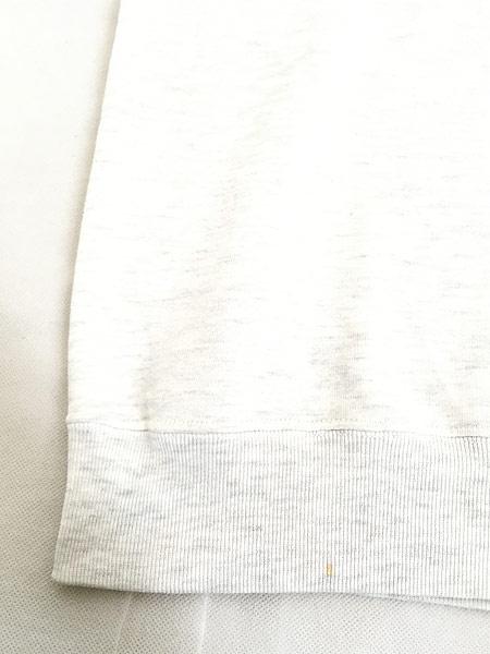 [5] 古着 90s JOY DOG FOOD 犬 わんちゃん 刺しゅう 前V スウェット トレーナー XL位 古着