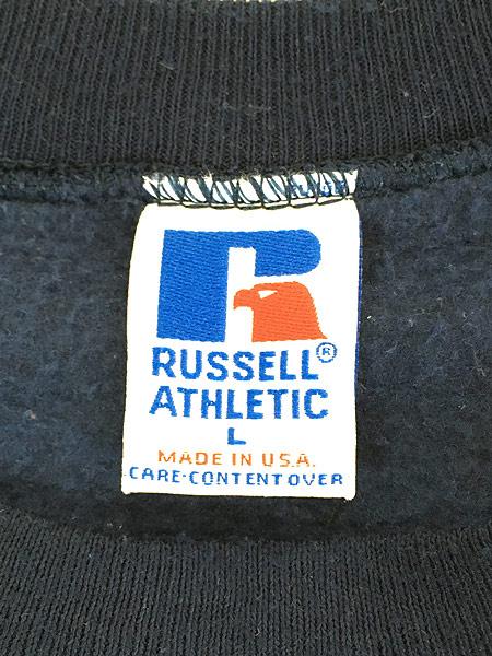[5] 古着 90s USA製 Russell 「UCLA」 前V カレッジ スウェット トレーナー L 古着