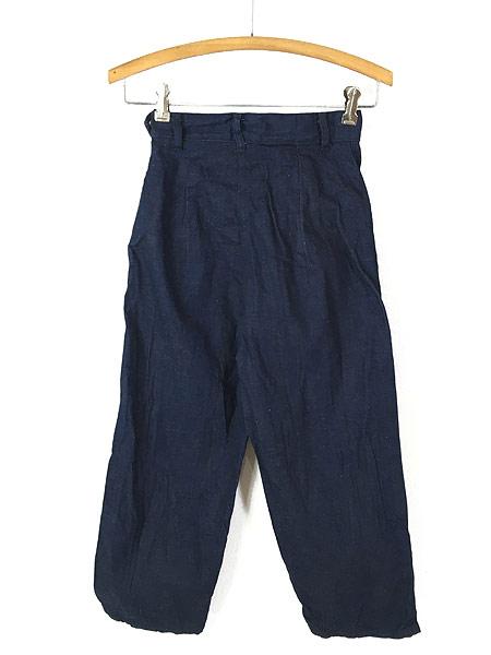 [2] キッズ 古着 60s WESTERN GIRL 濃紺 デニム ウエスタン パンツ 美品!! 7歳以上 子供服 古着