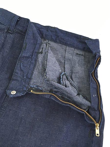 [5] キッズ 古着 60s WESTERN GIRL 濃紺 デニム ウエスタン パンツ 美品!! 7歳以上 子供服 古着