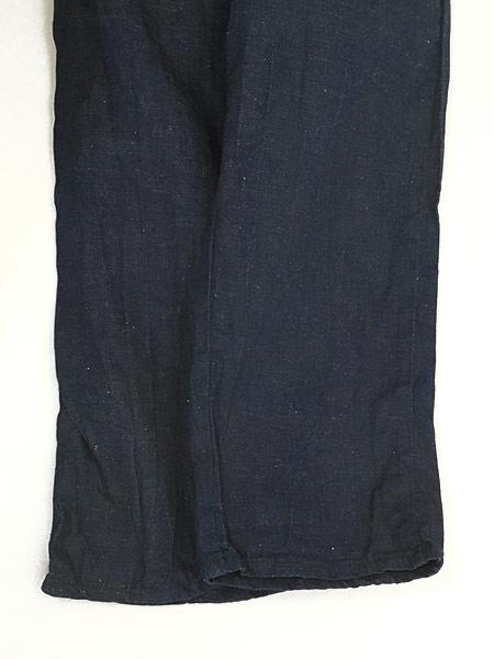 [6] キッズ 古着 60s WESTERN GIRL 濃紺 デニム ウエスタン パンツ 美品!! 7歳以上 子供服 古着