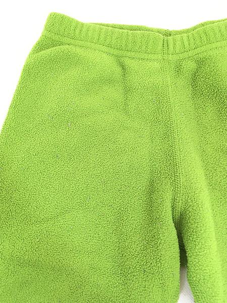 [2] キッズ 古着 08s Patagonia パタゴニア フリース 防寒 イージー インナー パンツ 1歳位 子供服 古着