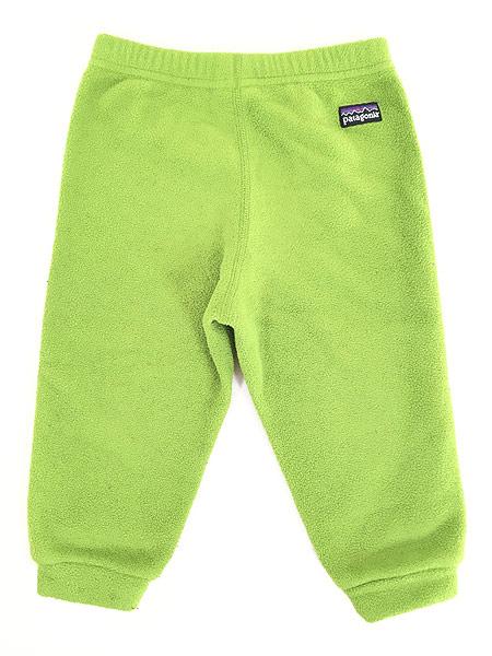 [3] キッズ 古着 08s Patagonia パタゴニア フリース 防寒 イージー インナー パンツ 1歳位 子供服 古着