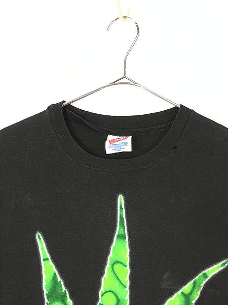 [2] レディース 古着 90s PANTERA 「FAR BEYOND DRIVEN」 ヘヴィメタル ロック バンド カットオフ Tシャツ XL 古着