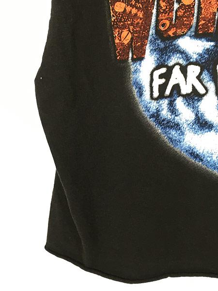 [4] レディース 古着 90s PANTERA 「FAR BEYOND DRIVEN」 ヘヴィメタル ロック バンド カットオフ Tシャツ XL 古着