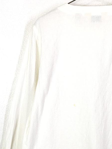 [5] レディース 古着 80s LL Bean ブロッキング ガーゼ コットン ノーカラー シャツ XL位 古着