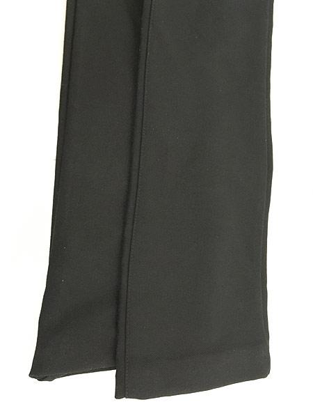 [5] レディース 古着 USA製 CK Calvin Klein 光沢 スラックス パンツ ブーツカット W29 L29.5 古着