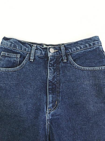 [3] レディース 古着 90s USA製 GUESS JEANS ロールアップ デニム ショーツ ショート パンツ W28 古着