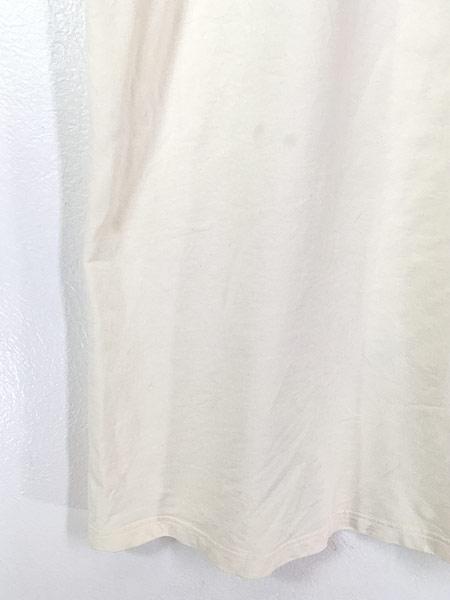 [7] レディース 古着 キリン アニマル 総柄 デザイン Tシャツ ワンピース ドレス ロング丈 L位 古着