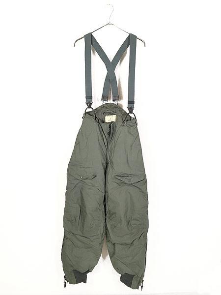 [1] レディース 古着 70s 米軍 US AIR FORCE F-1B 防寒 ヘビーゾーン フライング オーバー パンツ 26 古着
