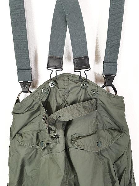 [4] レディース 古着 70s 米軍 US AIR FORCE F-1B 防寒 ヘビーゾーン フライング オーバー パンツ 26 古着