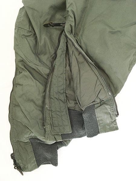 [6] レディース 古着 70s 米軍 US AIR FORCE F-1B 防寒 ヘビーゾーン フライング オーバー パンツ 26 古着