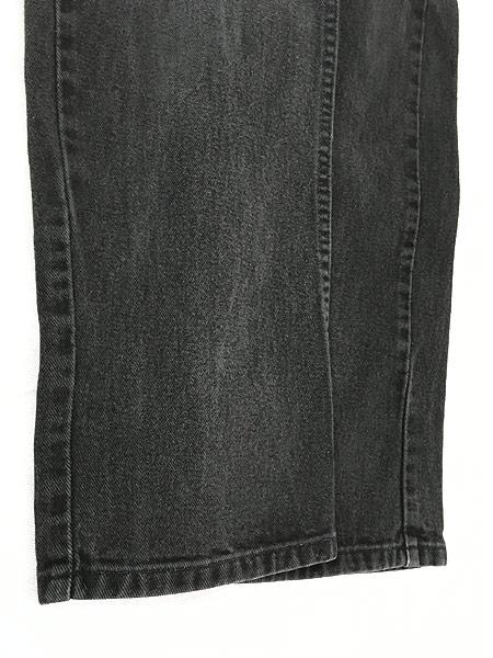 [5] レディース 古着 TOMMY HILFIGER トミー ブラック デニム パンツ ジーンズ テーパード W29 L30  古着