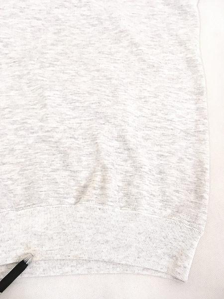 [6] レディース 古着 90s USA製 リス ネコ アニマル 刺しゅう 半袖 スウェット トレーナー XL 古着