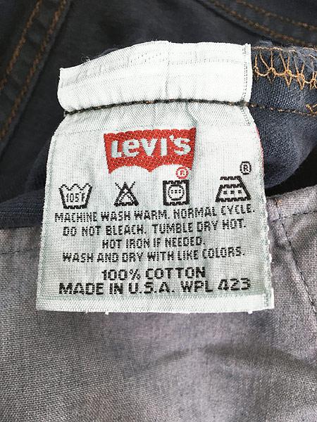 [7] 古着 90s USA製 Levi's 501 後染め オーバーダイ デニム パンツ ジーンズ ストレート W31 L29 古着