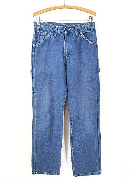 [1] 古着 90s Dickies ディッキーズ デニム ワーク ペインター パンツ W31 L31 古着