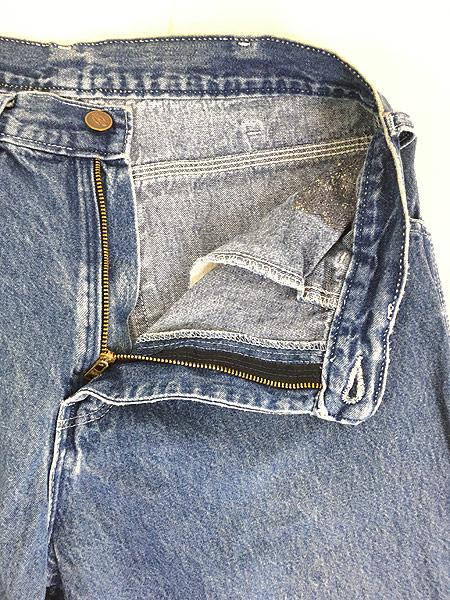 [8] 古着 90s Dickies ディッキーズ デニム ワーク ペインター パンツ W31 L31 古着
