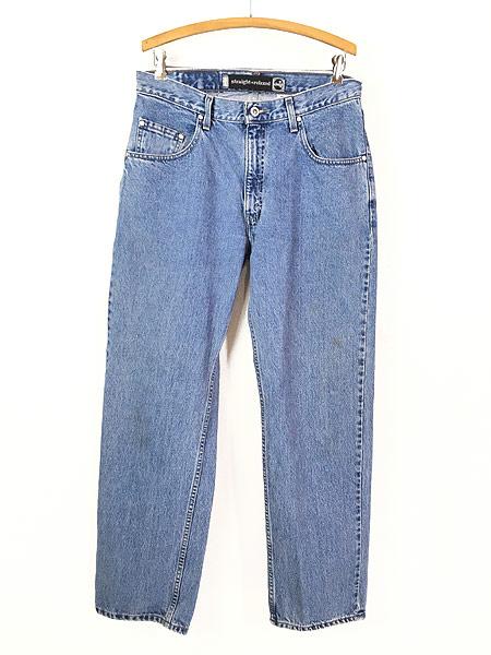 [1] 古着 90s Levi's SILVER TAB 「Straight + Relaxed」 デニム パンツ ジーンズ W33 L31 古着