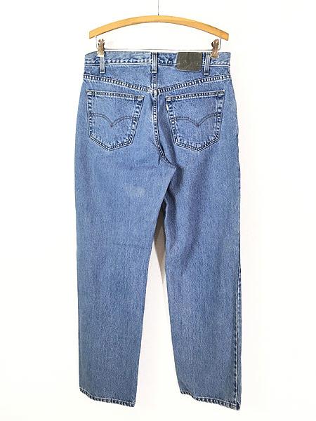 [4] 古着 90s Levi's SILVER TAB 「Straight + Relaxed」 デニム パンツ ジーンズ W33 L31 古着