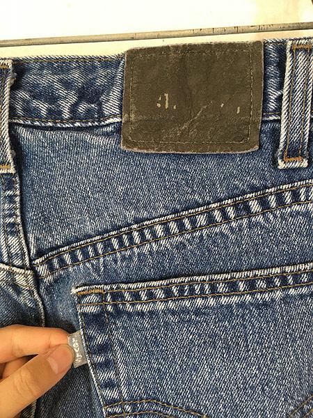 [6] 古着 90s Levi's SILVER TAB 「Straight + Relaxed」 デニム パンツ ジーンズ W33 L31 古着