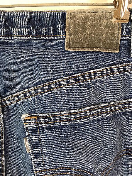 [4] 古着 90s USA製 Levi's SILVER TAB 「Straight + Relaxed」 デニム パンツ ジーンズ W34 L29.5 古着
