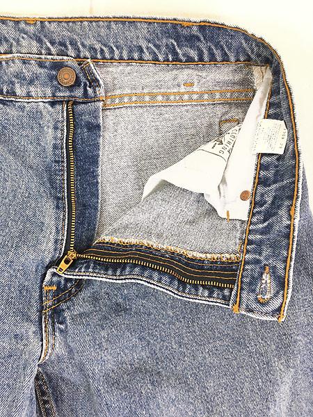 [6] 古着 90s USA製 Levi's SILVER TAB 「Straight + Relaxed」 デニム パンツ ジーンズ W34 L29.5 古着