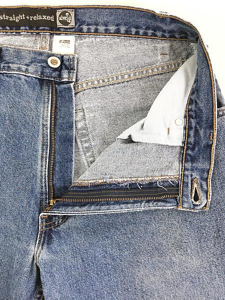 [8] 古着 90s USA製 Levi's SILVER TAB 「Straight + Relaxed」 デニム パンツ ジーンズ W34 L29.5 古着